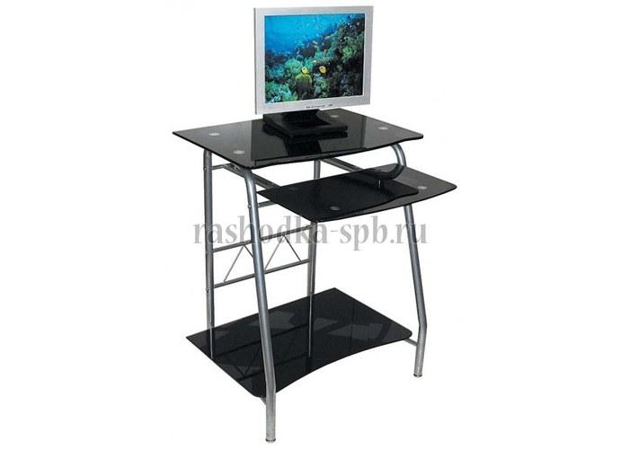 Компьютерный стол бюрократ gd-005 black купить по цене 3679..