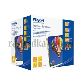 Фотобумага Epson Premium Semigloss photo paper 10X15 500 листов